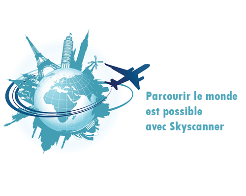 joindre le comparateur de vol skyscanner