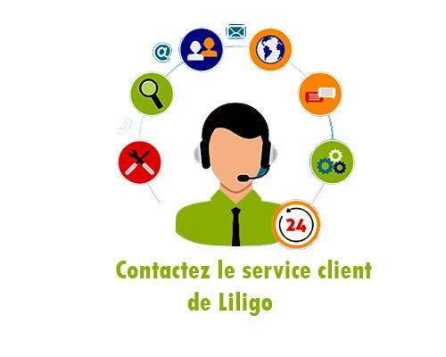 joindre Liligo par téléphone