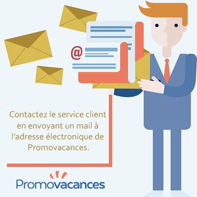 appeler ou envoyer un mail à promovacances