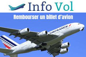 remboursement billet avion non remboursable