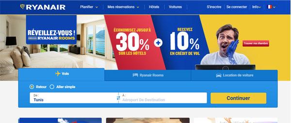 Ryanair mon compte en ligne