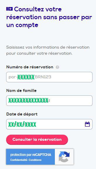gestion reservation en ligne