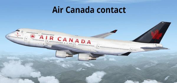 Service client Air Canada contact
