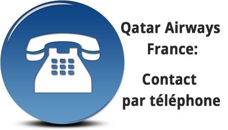 Numéros de téléphone qatar airways france