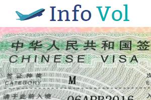faire visa pour la chine