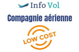 liste compagnie aérienne low cost france