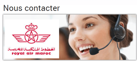 Le centre d'appel de royal air maroc