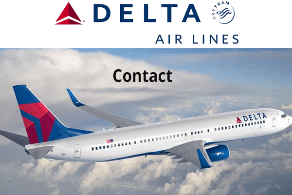 Contacter le service client delta