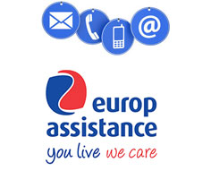 Contact Europ assistance