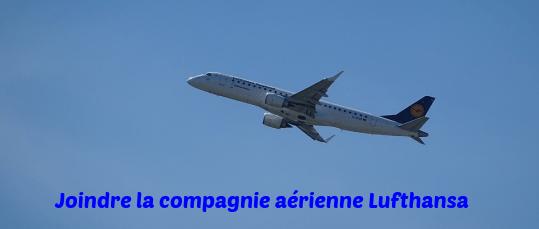 joindre la compagnie aérienne Lufthansa