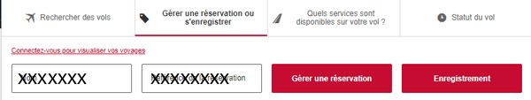 Online check-in Emirates