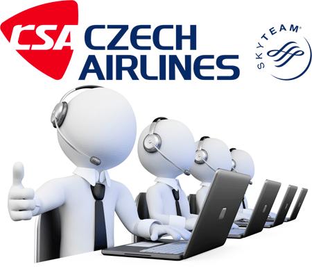 Appeler czech airlines par téléphone