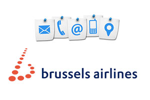 Contact service client Brussels Airlines