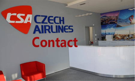 CAS CZECH AIRLINES contact