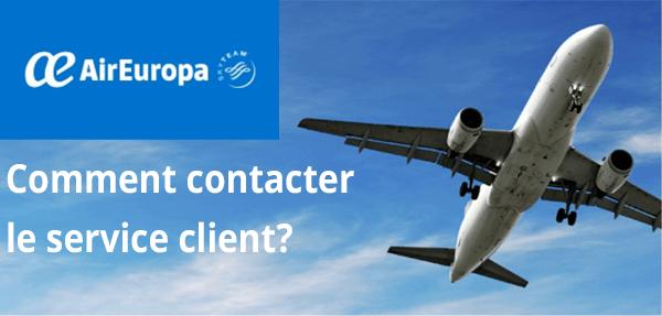 Air Europa contact