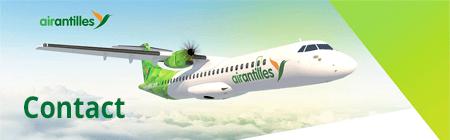 Air Antilles contact par téléphone, email et adresse