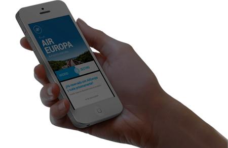 aireuropa.com/fr en application mobile