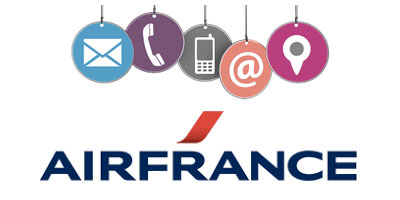 Contact service client air france martinique