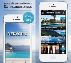 Application mobile verychic