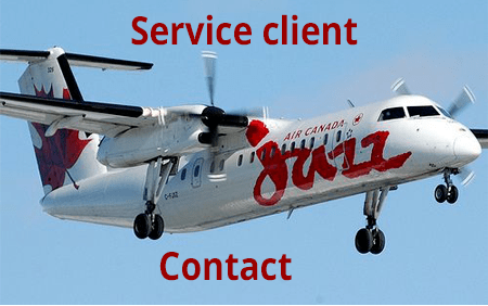 Jazz Airlines contact