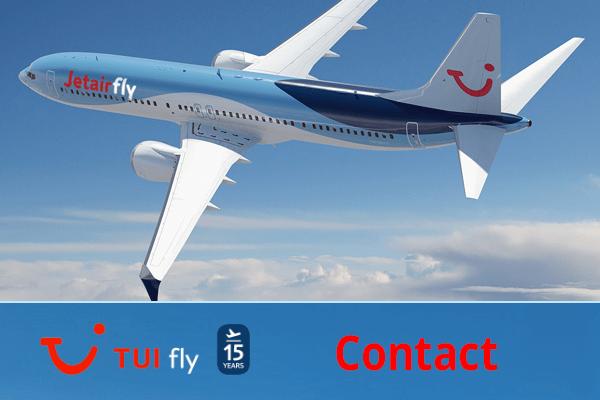 Jetairfly (TUI FlyBelgium) contact