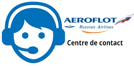 Numéro non surtaxé du service client Aeroflot France