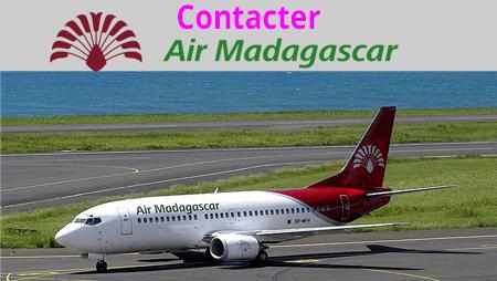 Comment contacter le service client Air Madagascar?