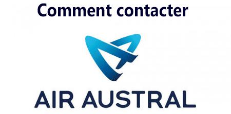 Contacter le service client Air Austral