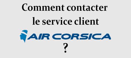 Contacter Air Corsica par téléphone, email et courrier postal