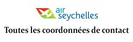 Contacter le sertvice client Air Seychelles par téléphone, email ou courrier postal
