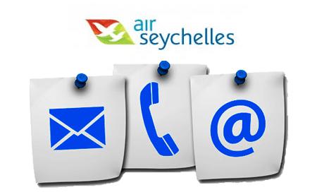 Joindre le SAV Air Seychelles par email