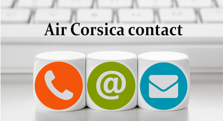 Joindrele service après-vente Air Corsica en ligne