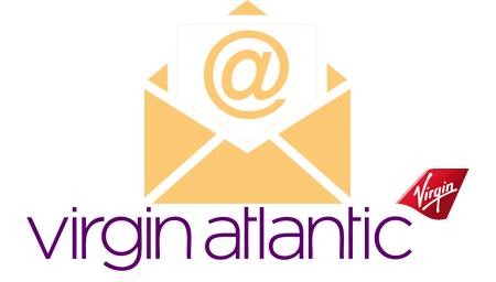 Virgin Atlantic contact en ligne