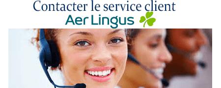 Service client Aer lingus: Numéros de téléphone