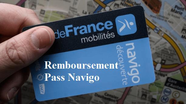remboursement du pass navigo