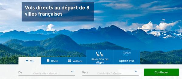 Réservation et enregistrement de vol sur www.airtransat.com