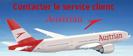 Contacter Austrian Airlines service client par téléphone, mail ou courrier postal