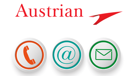 contact Austrian Airlines en ligne