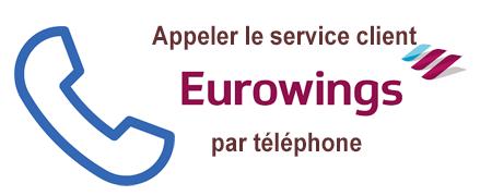 Numéro de téléphone Eurowings France