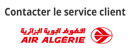Air Algérie contact France