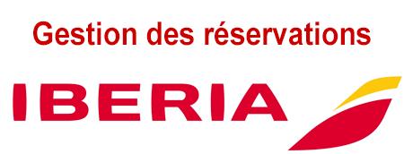 Suivre, gérer et modifier mes réservations Iberia