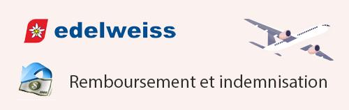 Remboursement et indemnisation Edelweiss