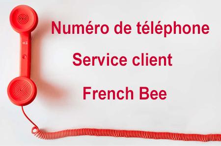 Joindre French Bee par téléphone.