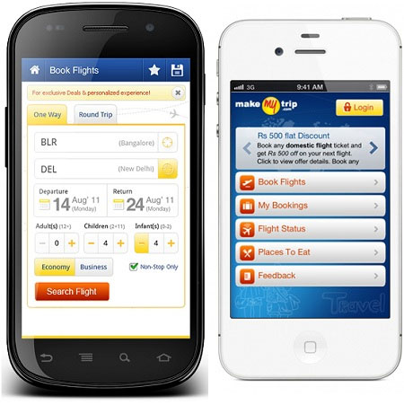 Application mobile Mytrip