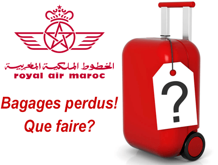 Royal Air Maroc bagage perdu, que faire?