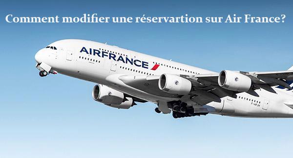Comment annuler une réservation Air France