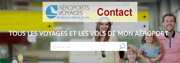 comment contacter le service client aéroport voyage ?