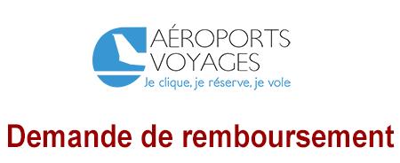 Aéroport voyages demande de remboursement Covid-19