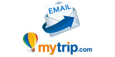 Contacter Mytrip par email