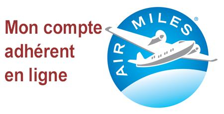 Ouvrir mon compte Airmiles, activer ma carte et consulter mon solde en ligne.